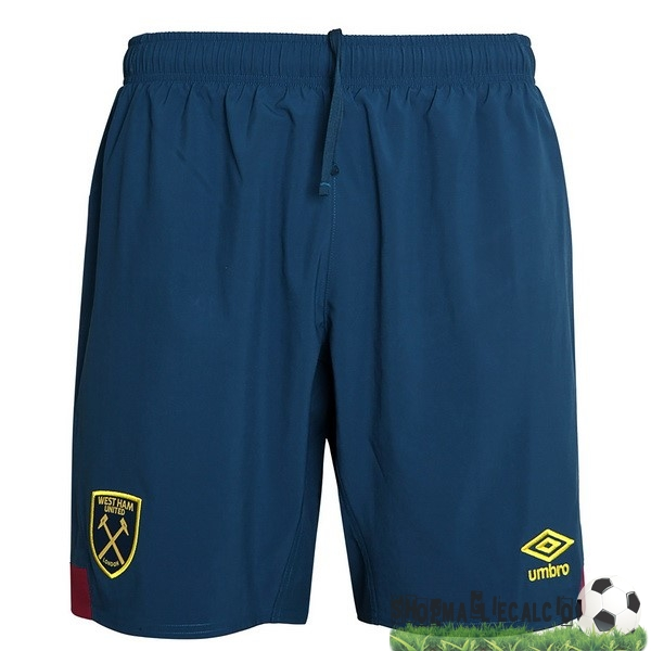 Completi Calcio Squadre umbro Away Pantaloncini West Ham United 18-19 Blu